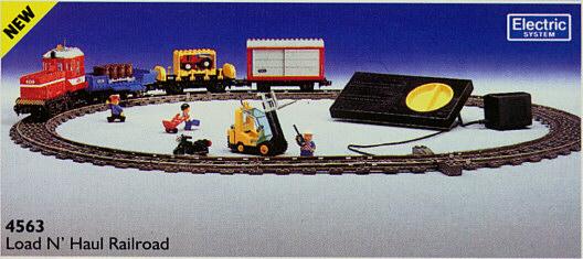"4563 LEGO Load N"" Haul Railroad"