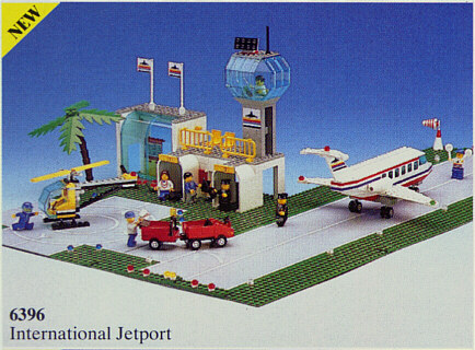 6396 LEGO International Jetport